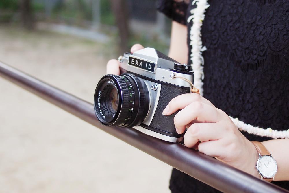 付属のフィルムカメラ